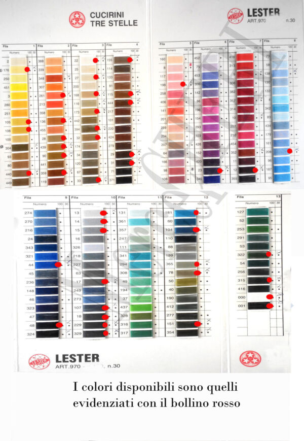 Filo Lester n°30 CTS