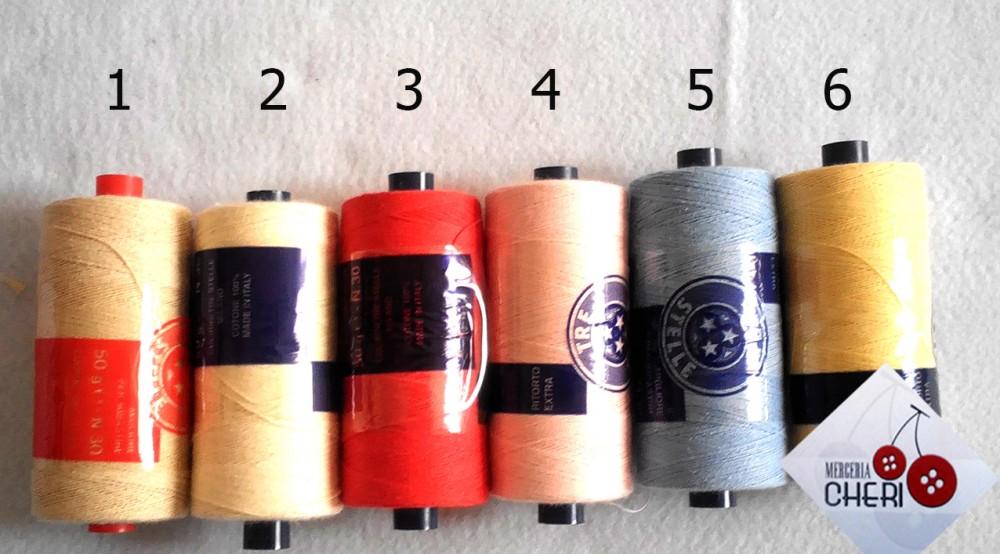 filo per imbastire cts g50 n30 colori bis