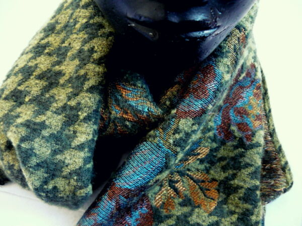 Sciarpa Ostinelli lana-seta made in Italy