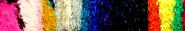 Marabù colorati 2 metri