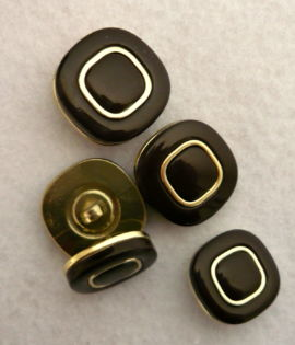 Bottone fine 60 in ABS e resina