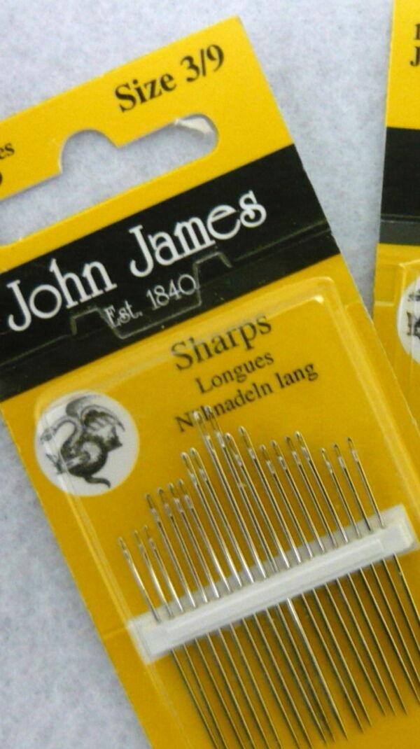 Aghi assortiti John James