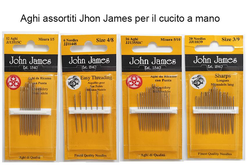 Aghi assortiti Jhon James