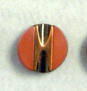 Bottone vintage ASCOLI anni 70