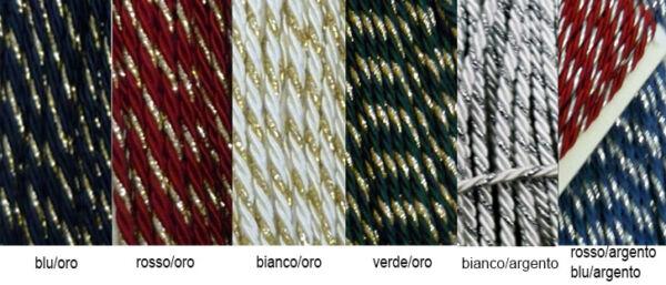 Cordoncino bicolore Liotex