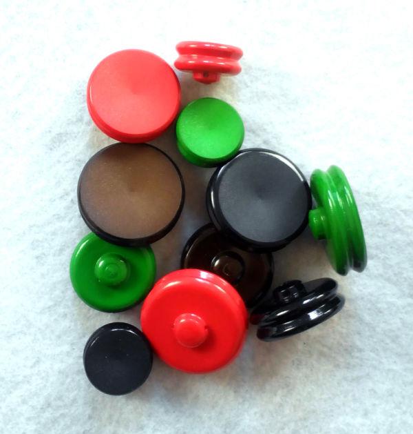 Bottone Vintage anni 60 resina