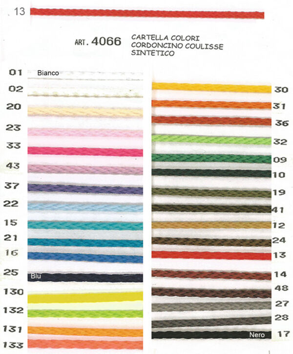 """Cordoncino coulisse """"Liotex"""""""