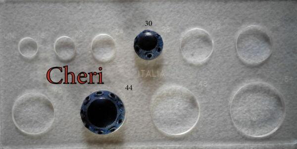 7 bellissimi bottoni di fine anni 60  (art L61)