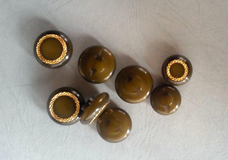 Set bottoni vintage fine anni 60