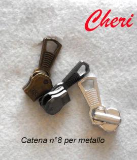 Cursore per catena 8 in metallo