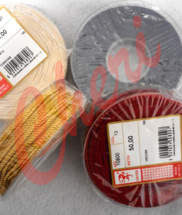 Cordoncino lucido Liotex  mm. 1.5 m.50
