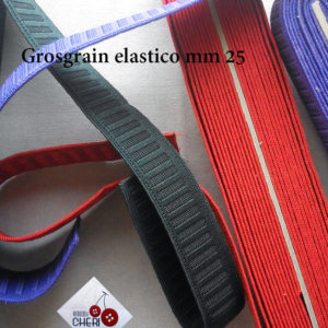 Nastro Elastico Mm. 25 Pezza  Mt 10