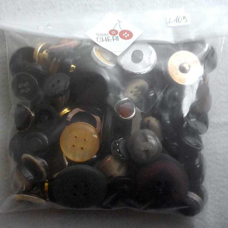 100 Bottoni vintage