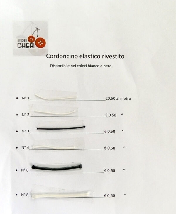 Cordonetto elastico extra forte