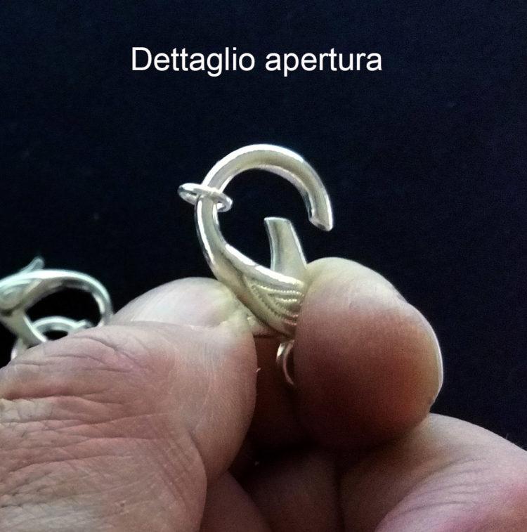 Moschettone con anellino