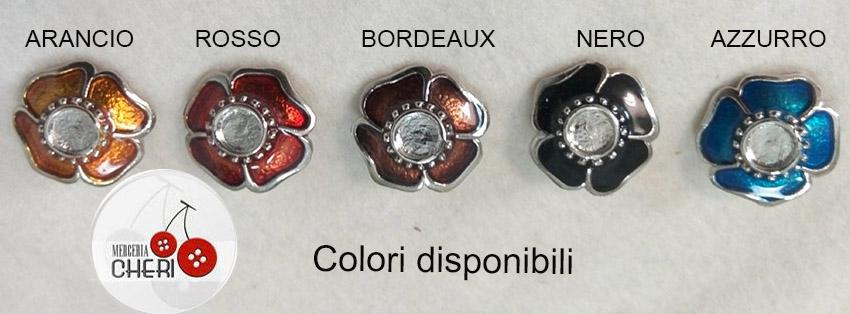 bottone metallo smaltato v1045 4