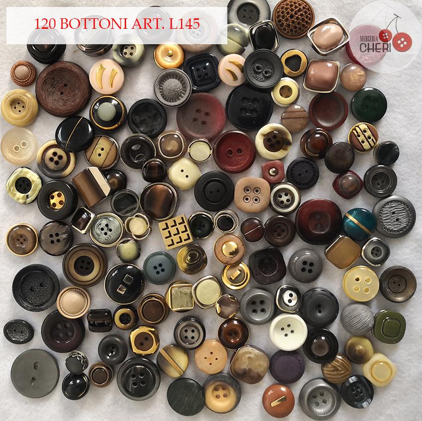 Bottoni vintage L145