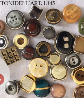 120 Bottoni vintage selezionati