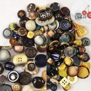 110 Bottoni Vintage Selezionati L146