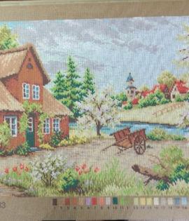 Canovaccio paesaggio cm 40 x 50