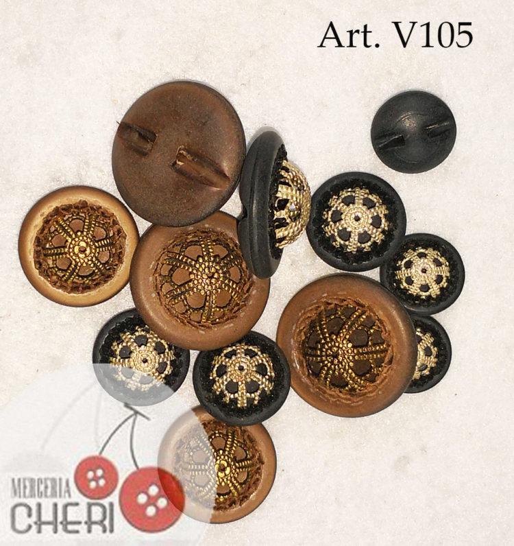 Bottone vintage anni 60 (V1055)