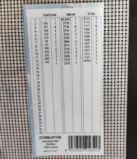 FIORI da ricamare a mezzo punto cm 19x50