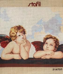 Angeli, canovaccio cm 47 x 37,5