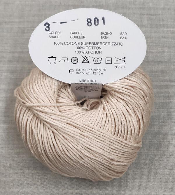Gomitolo cotone egizian BBB gr. 50