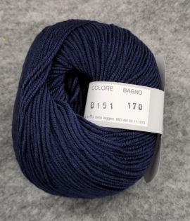 Gomitolo lana merinos cinque capi col. 151
