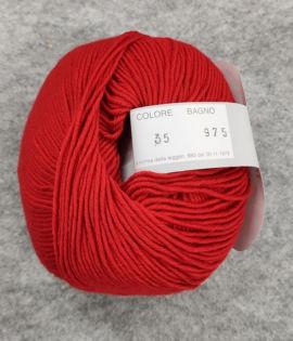 Gomitolo lana merinos cinque capi col. 35