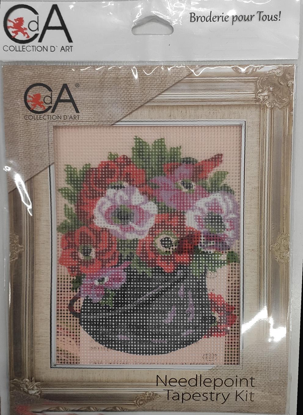 Collection d'art ricamo per tutti immagine prestampata di fiori