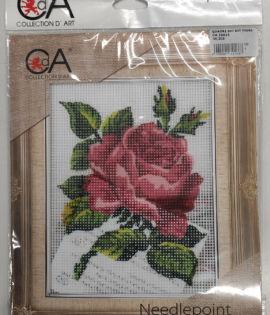 Collection d'art- immagine prestampata di una rosa