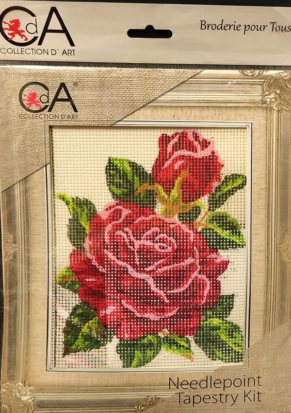 Collection d'art- immagine prestampata le rose