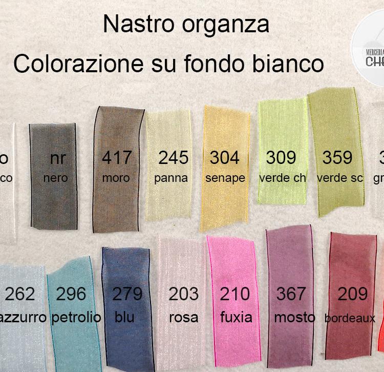colori organza