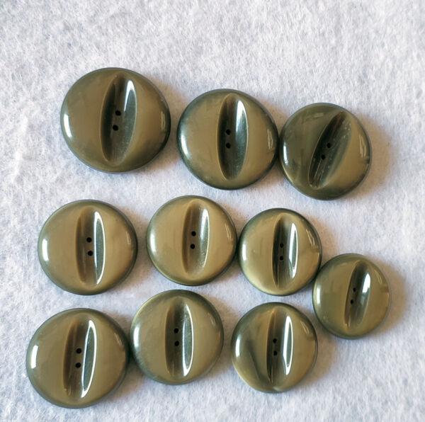 set 10 Bottoni vintage anni 70