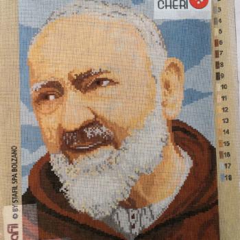Canovaccio cm 30x40 Padre Pio