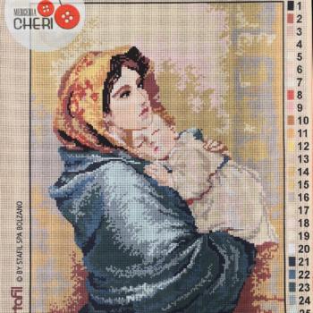 Canovaccio Madonnina d'apres del Ferruzzi