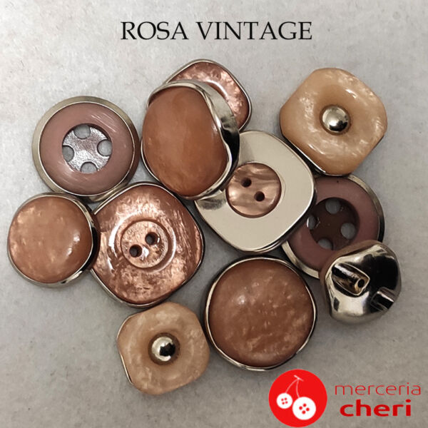 Rosa vintage anni 70