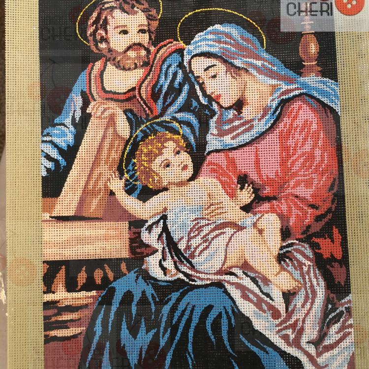 Canovaccio Sacra famiglia cm 30 x 40