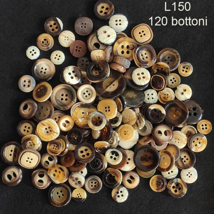 120 Bottoni vintage