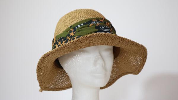 Cappello da spiaggia traforato Paglia
