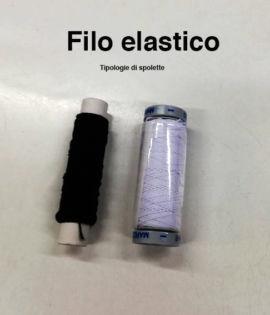 Filo elastico da cucito