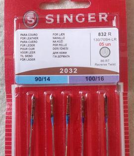 Aghi Singer 2032 90/14  100/16 PER PELLE