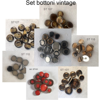 Set  di Bottoni vintage anni 70/80