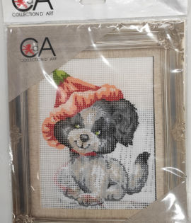 Collection d'art- Cagnolino prestampato