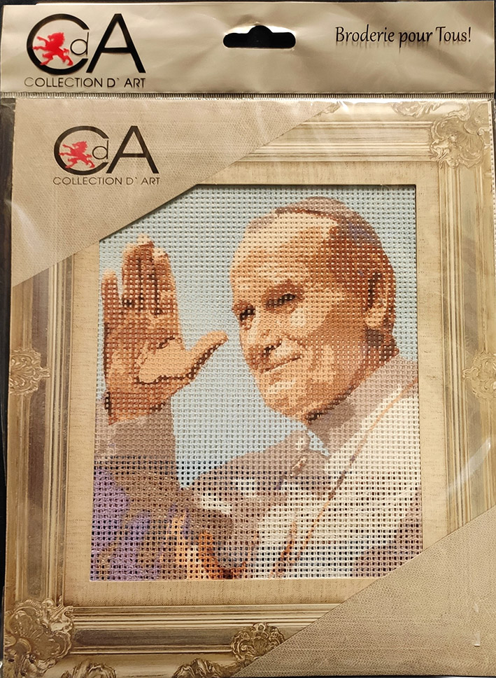 Collection d'art-Papa Wojtyla