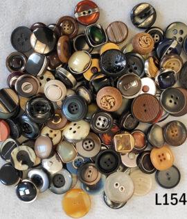 100 bottoni vintage anni 60 70 80