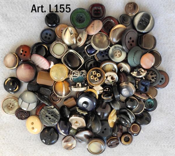 Bottoni vintage 100 pezzi anni 60 70 80